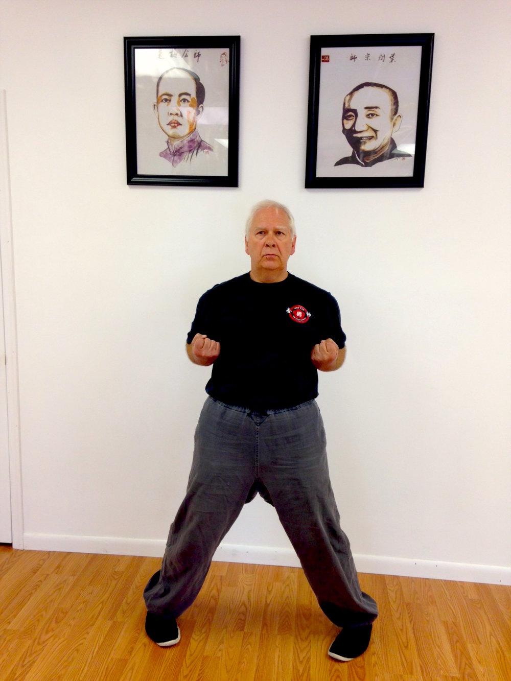 Sifu Urz Mueller of New River Valley Moy Yat Kung Fu