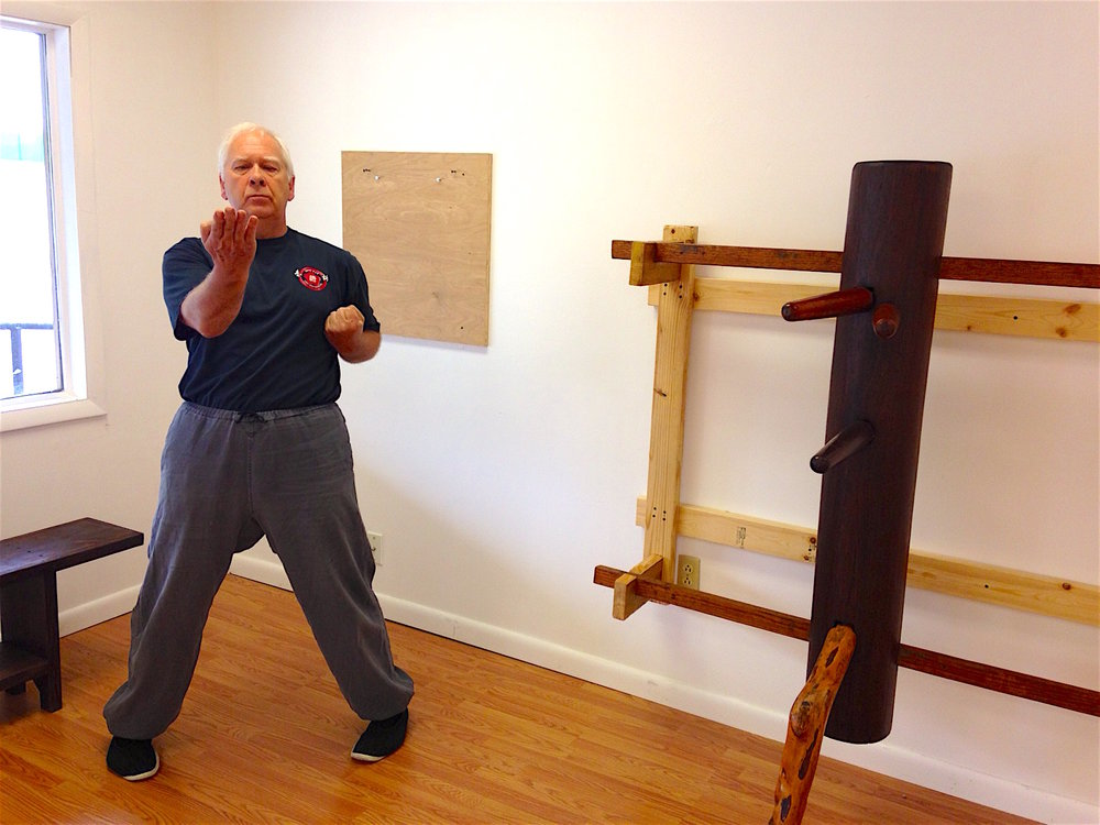 Sifu Urs Mueller in Christiansburg, VA - healthy and fit at age 65.