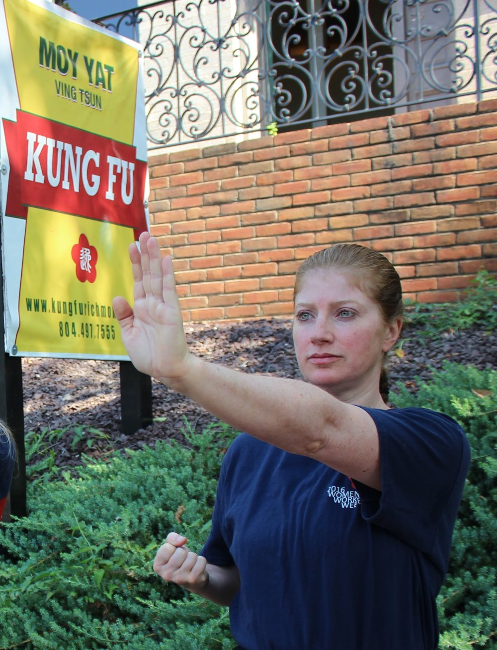 Richmond Moy Yat Kung Fu Academy Women's Program - teaching the martial art of Ving Tsun (wing chun) Kung Fu for health and self-defense