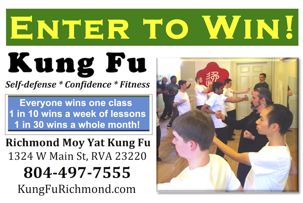 Kung Fu contest box for Richmond Moy Yat Kung Fu Academy - self-defense and martial arts training for men, women, kids & teens