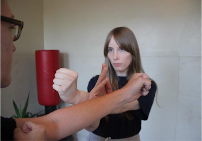 Pak Dar for self-defense - Richmond Moy Yat Kung Fu Academy Women's Program