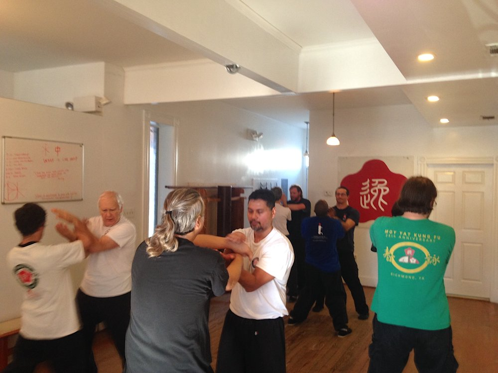 Richmond Moy Yat Kung Fu Academy Ving Tsun (wing chun) Chi Sao workshop - Saturday Dec 10, 2016