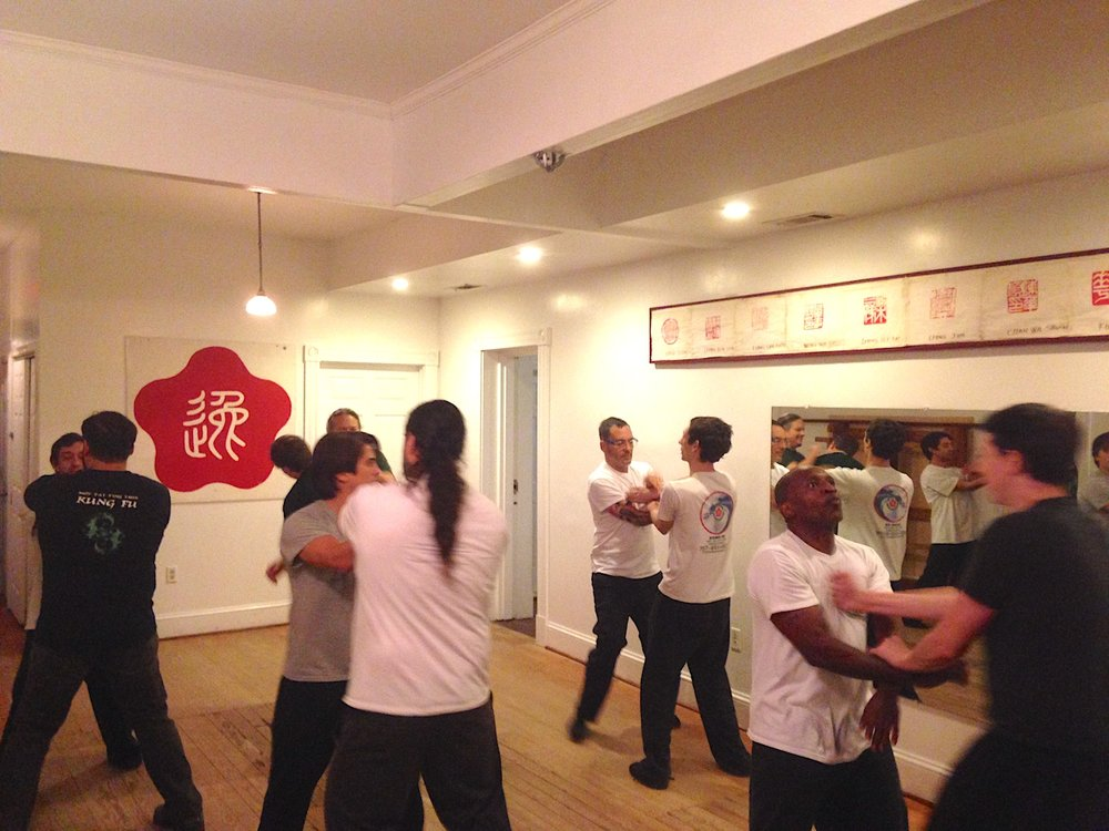 Chi Sao workshop Richmond Moy Yat Kung Fu - Saturday night Dec 10, 2016
