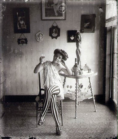 E. J. Bellocq portrait of New Orleans prostitute circa 1912