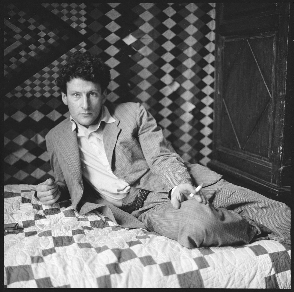 Lucian Freud by Walker Evans 1950s