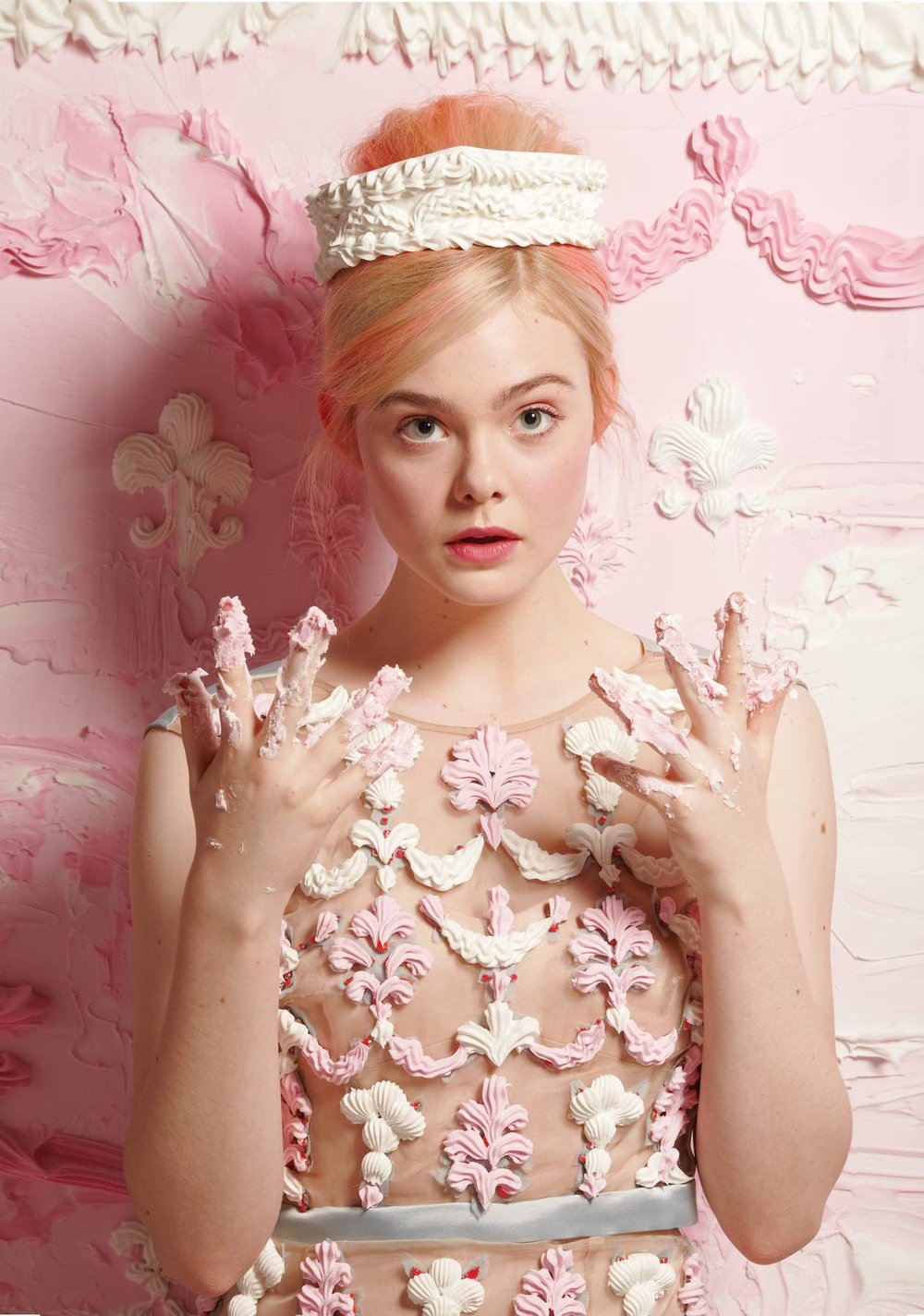 Elle Fanning by Will Cotton for 'New York Magazine'