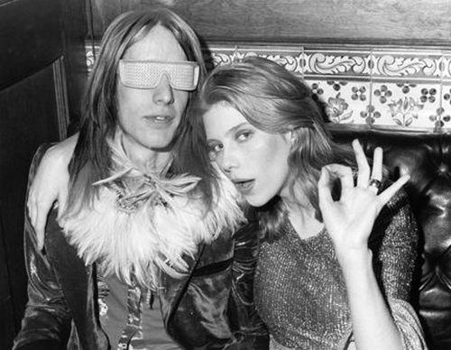Todd Rundgren and Bebe Buell circa 1972