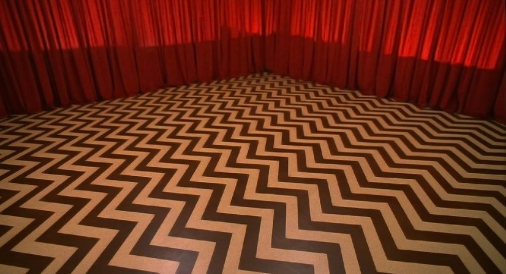 the red room, David Lynch's 'Twin Peaks' 1990
