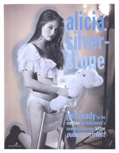 Alicia Silverstone photographed by Bruce Weber for Interview, 1994