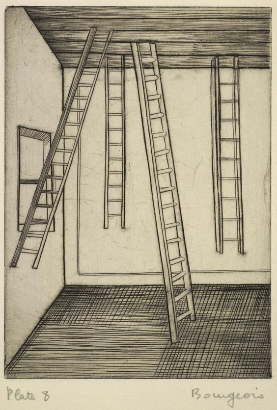 Louise Bourgeois, He Disappeared into Complete Silence, 1945
