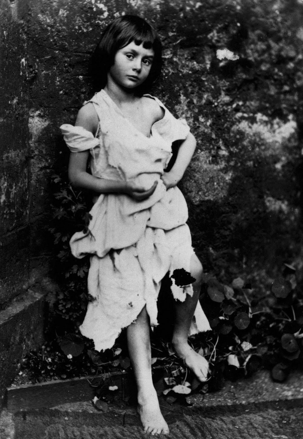 Alice Liddell, muse of Lewis Carroll