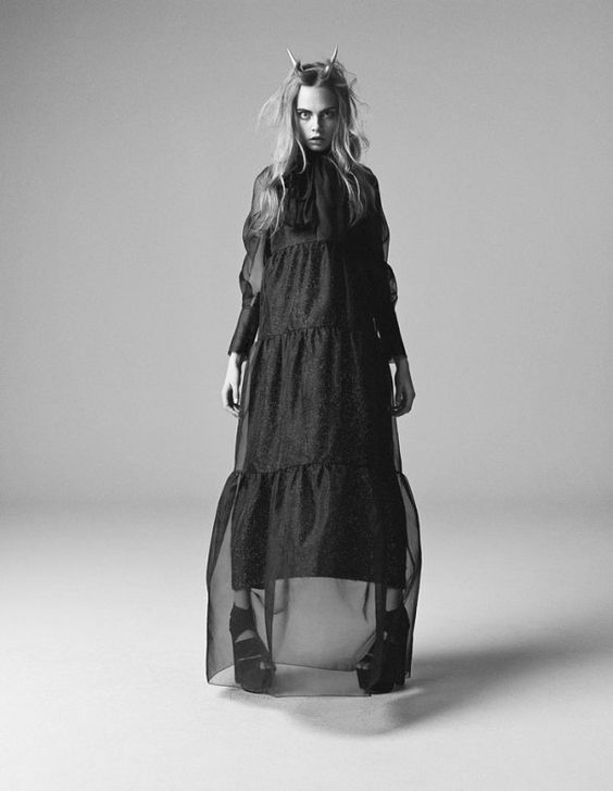 Cara Delevingne by Richard Bush iD 2013