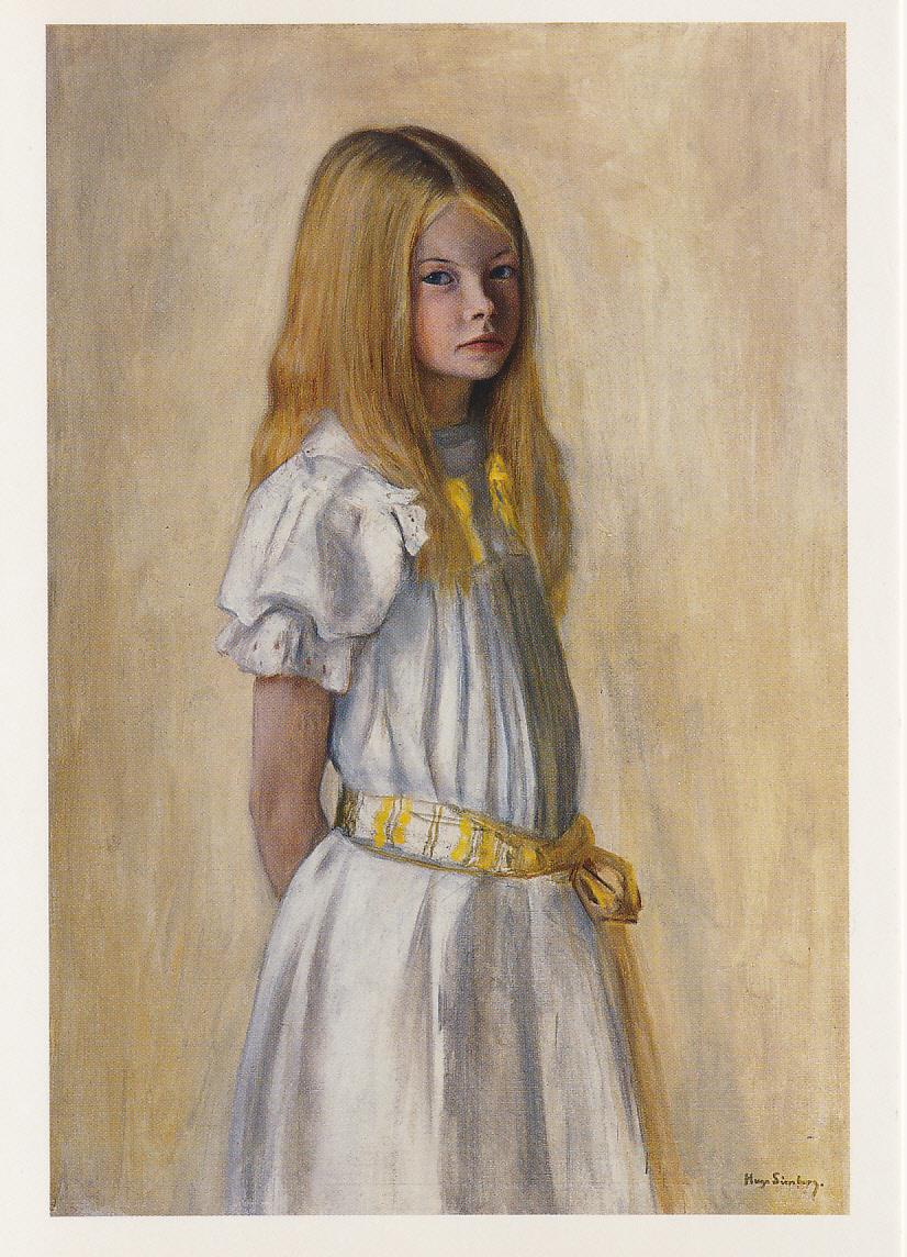 Hugo Simberg - 'Gertrud Gadd'(1903)