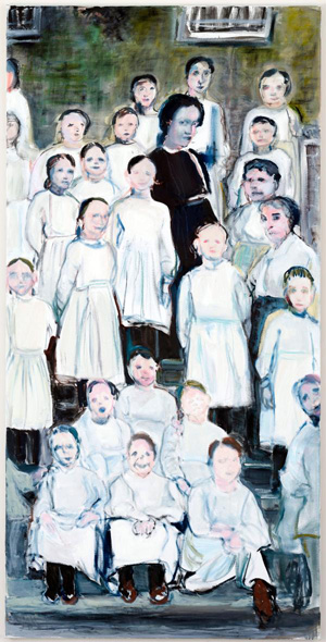 marlene dumas 'angels in uniform' 2012