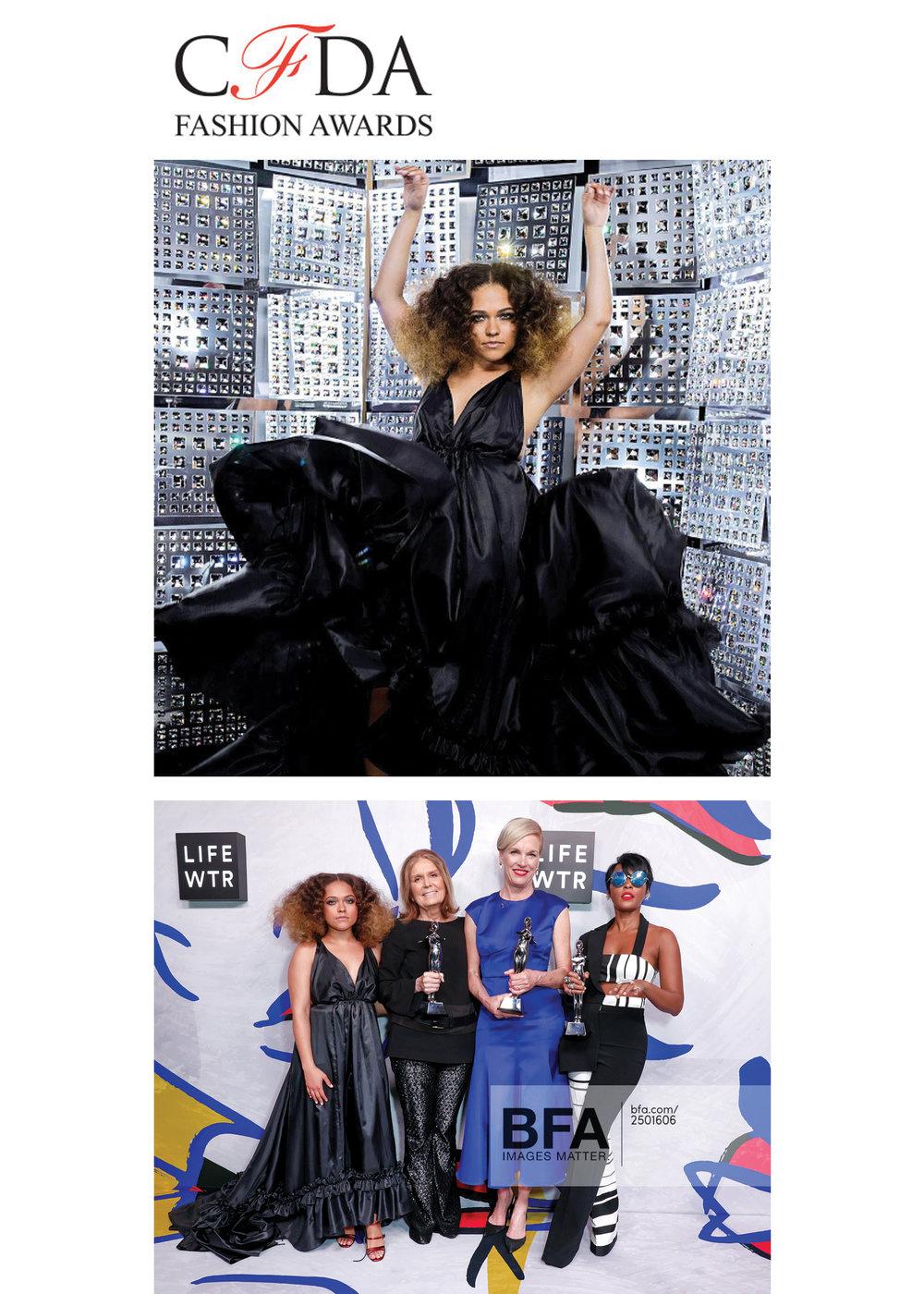 CFDA Awards Kelsey Randall erin allen kane