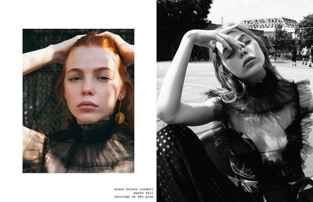 kelsey randall flanelle magazine