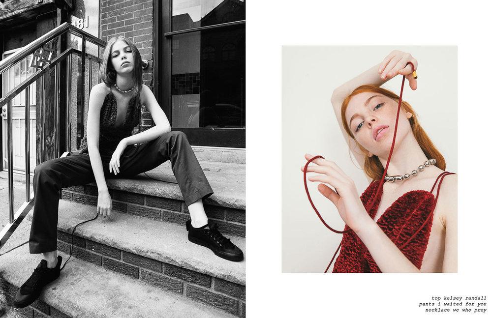 flanelle magazine kelsey randall