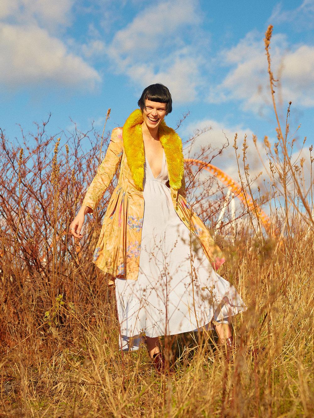 Copy of metal magazine kelsey randall fashion
