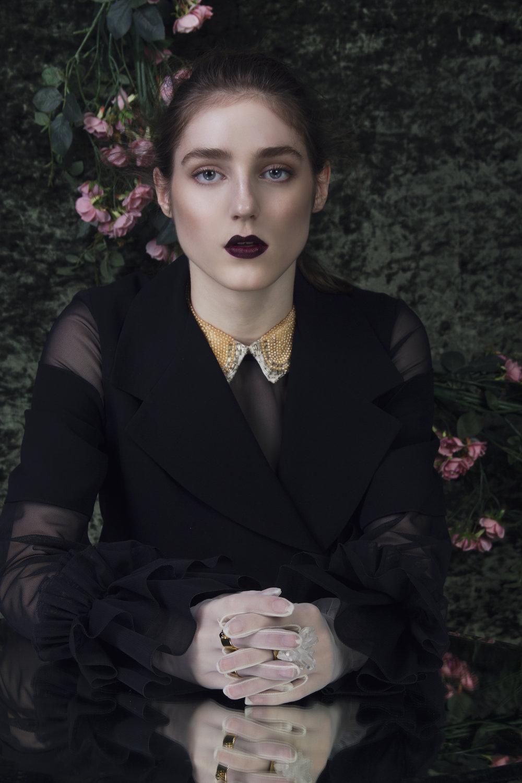 Copy of Ladygunn magazine fashion editorial singer Birdy