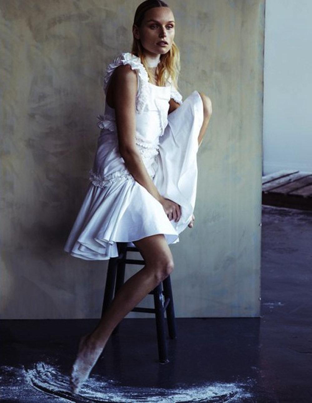Copy of schon! magazine fashion editorial