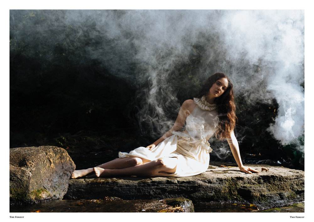 kelsey randall spencer ostrander the forest magazine lucia roberts bespoke muslin collection
