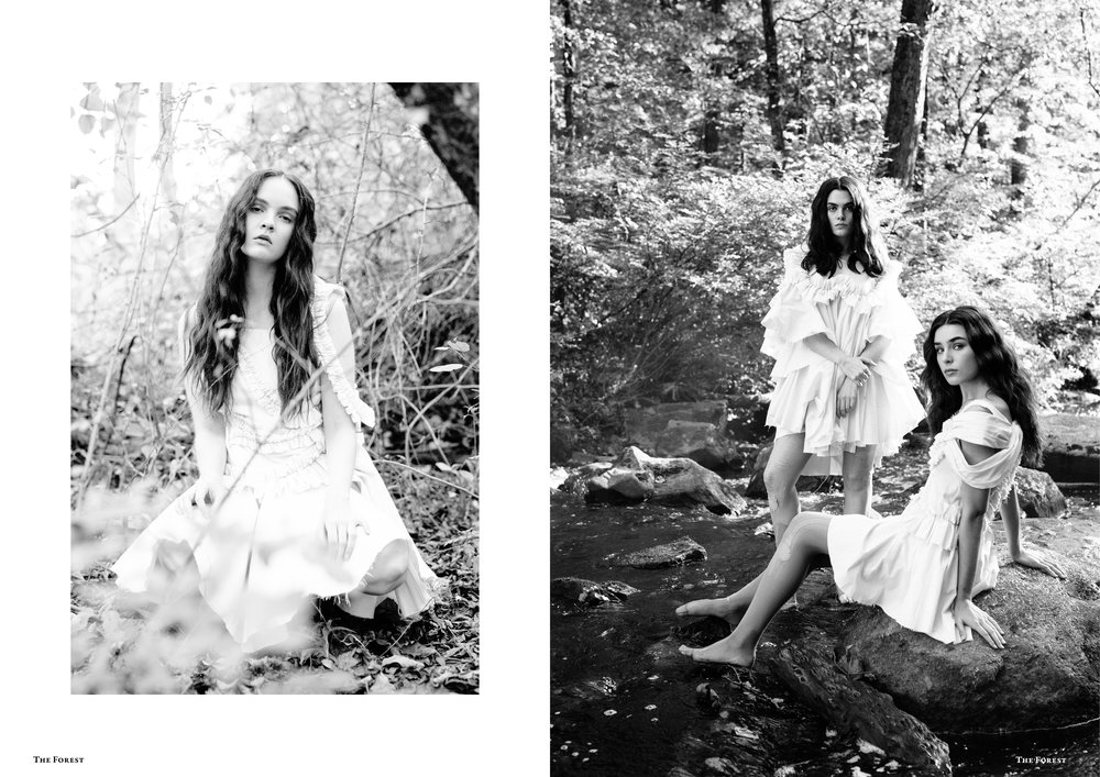 kelsey randall spencer ostrander the forest magazine smoke on the water charlie howard lucia roberts emma hoyt