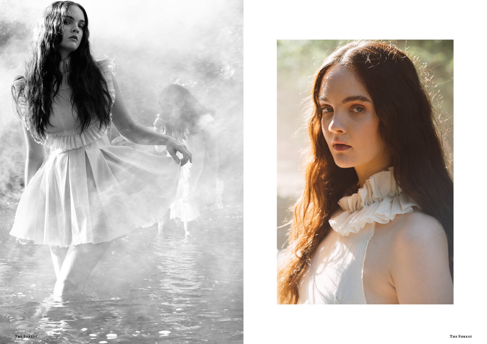 kelsey randall smoke on the water lucia roberts the forest magazine spencer ostrander bespoke muslin collection