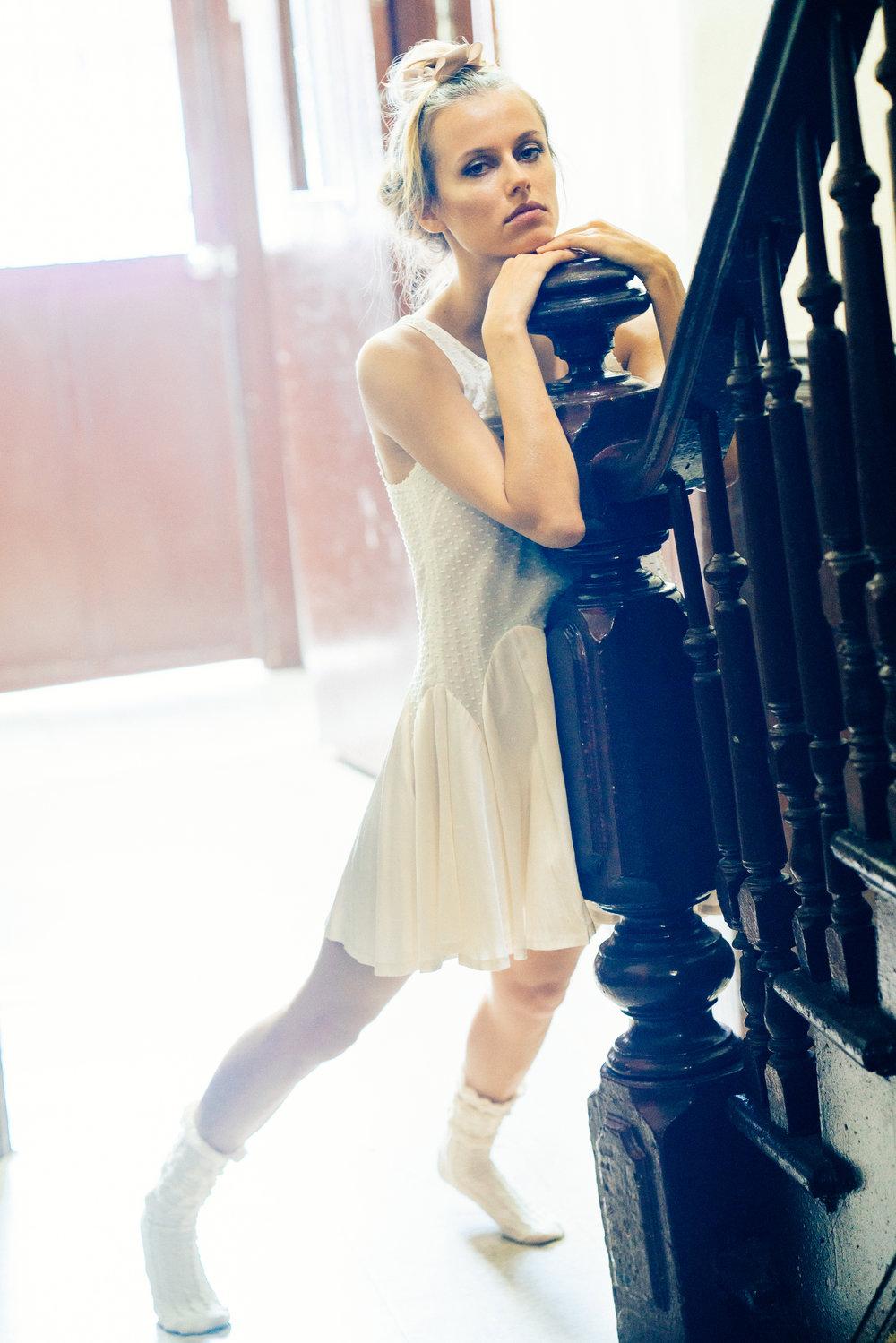 kelsey randall white dress bridal
