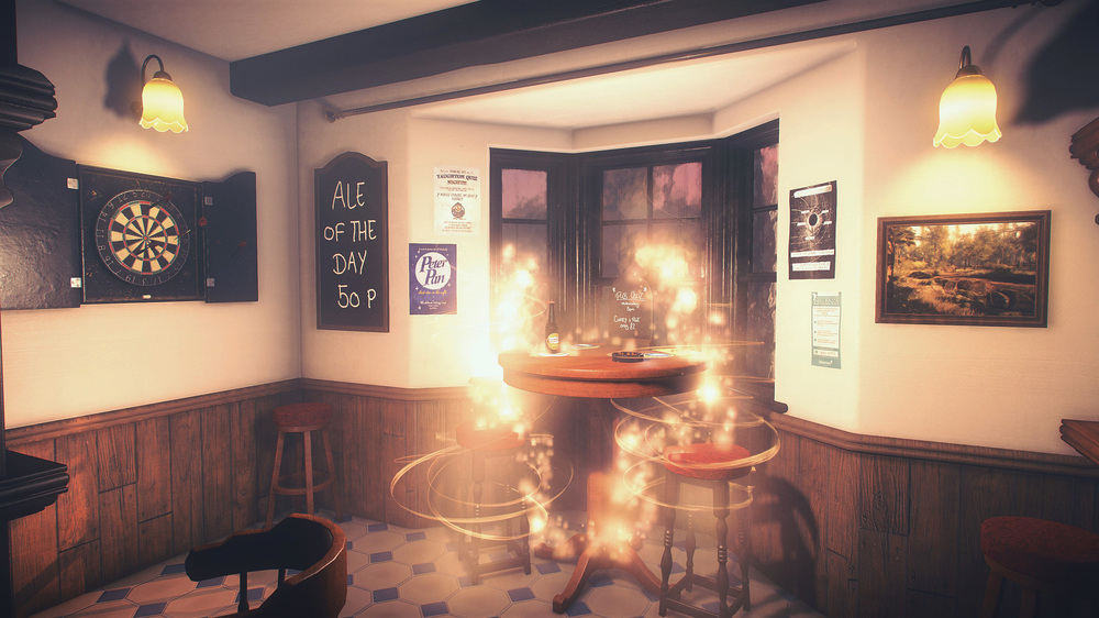 A pub scene in  Everybody's Gone To The Rapture