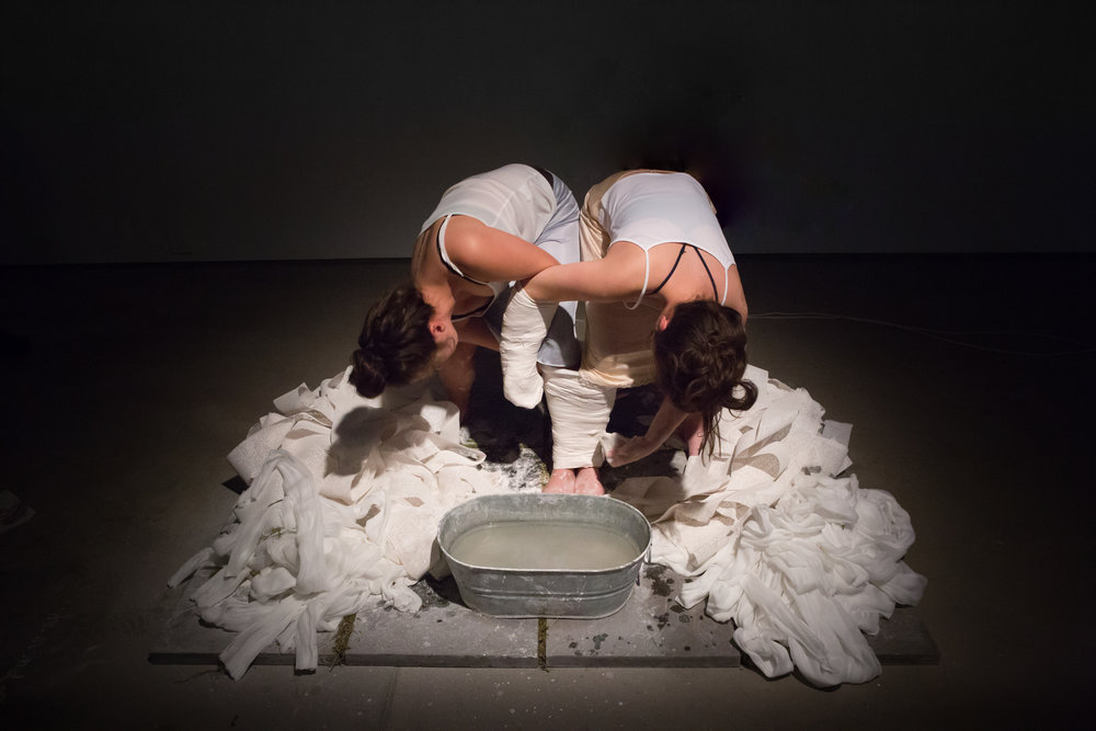 Nympha,  performed at  Decreation  by Emily and Abby Shmeichel, April 2016