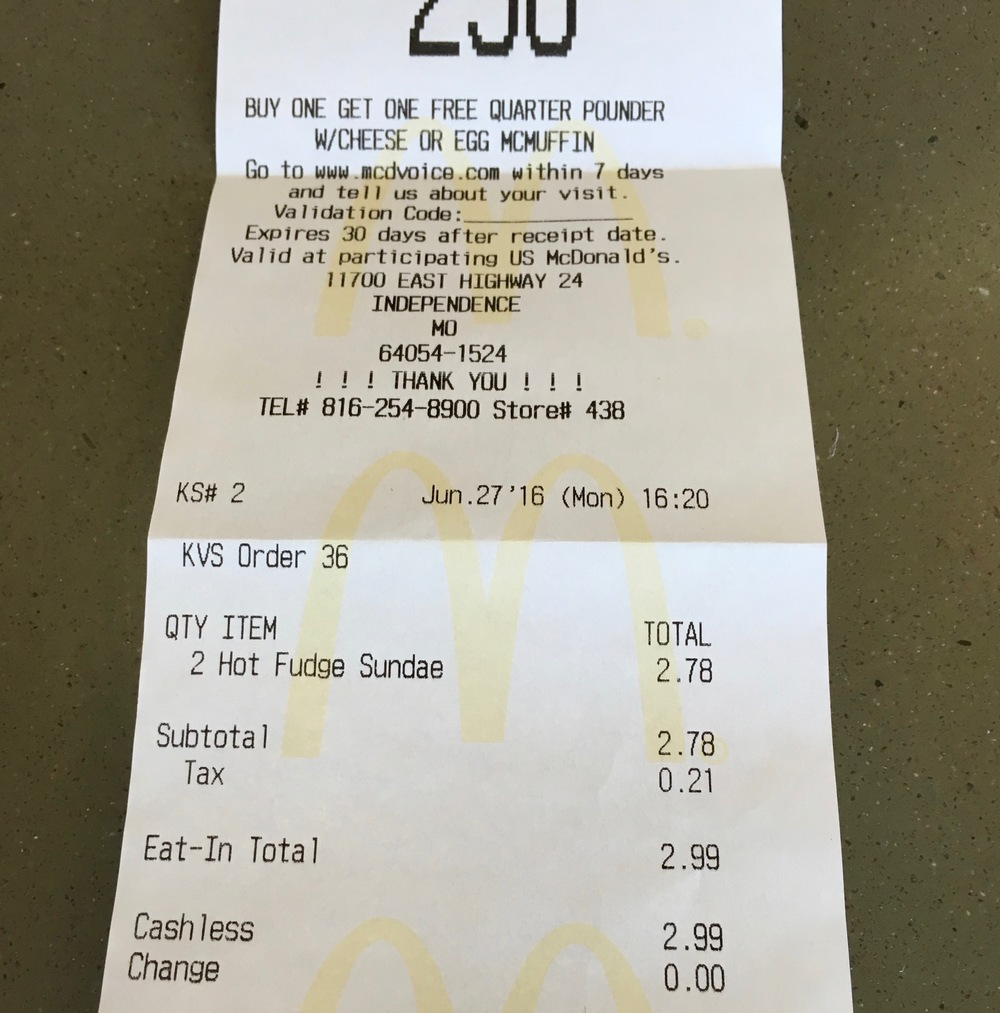 Who knew McDonald's ice cream was worth so much?