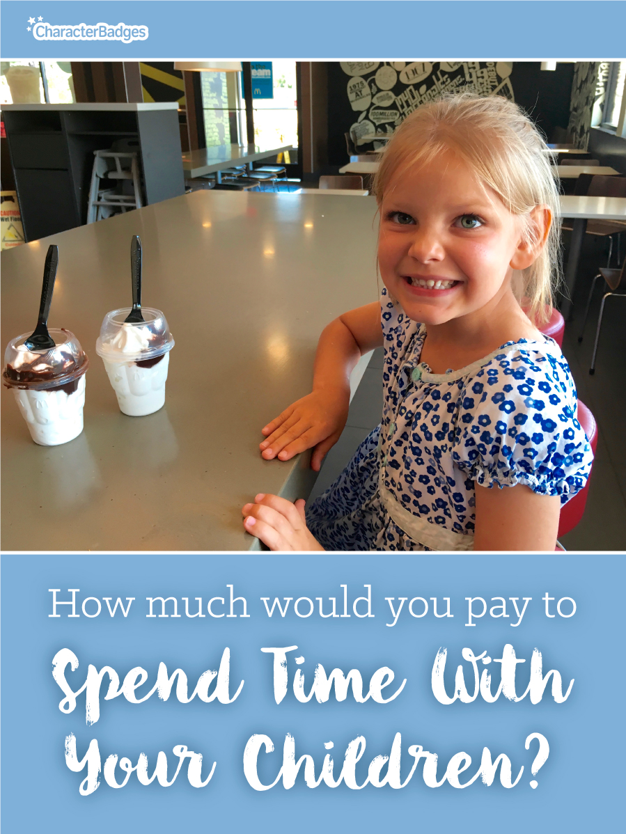 How Much Would You Pay to Spend Time With Your Child ...