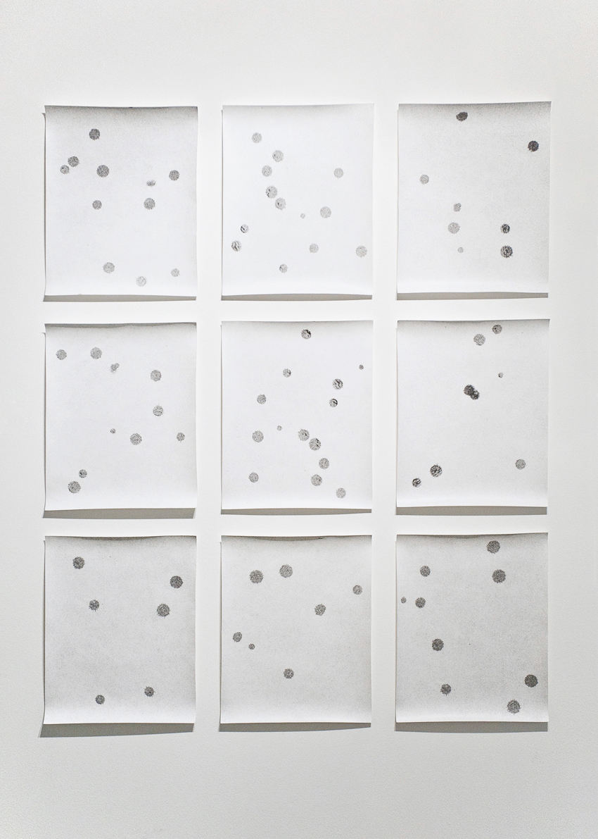 Jochen Lempert, Rain Drops, 2013. Set of 9 silver gelatin prints, 30 x 24 cm each.jpg