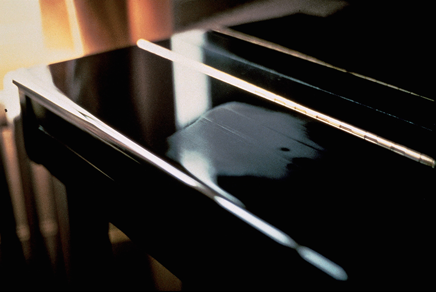Gabriel Orozco, Breath on Piano, 1993, Chromogenic color print, 40.6 x 50.8 cm