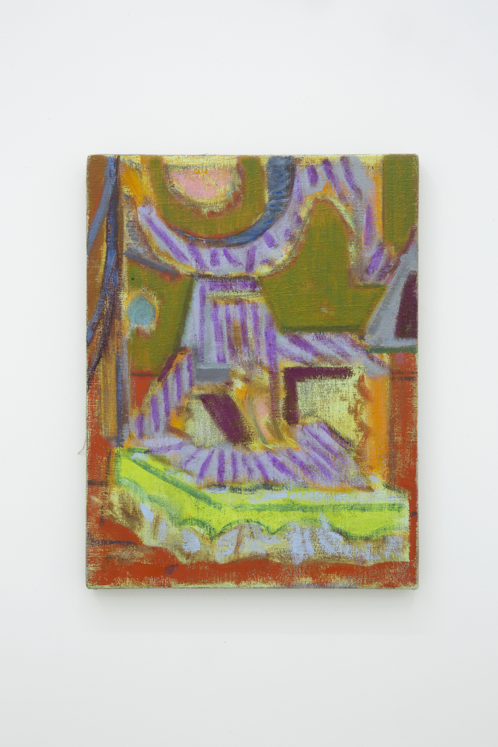 Michael Berryhill, untitled. Oil on linen 16 x 12 inches (40 x 30 cm)