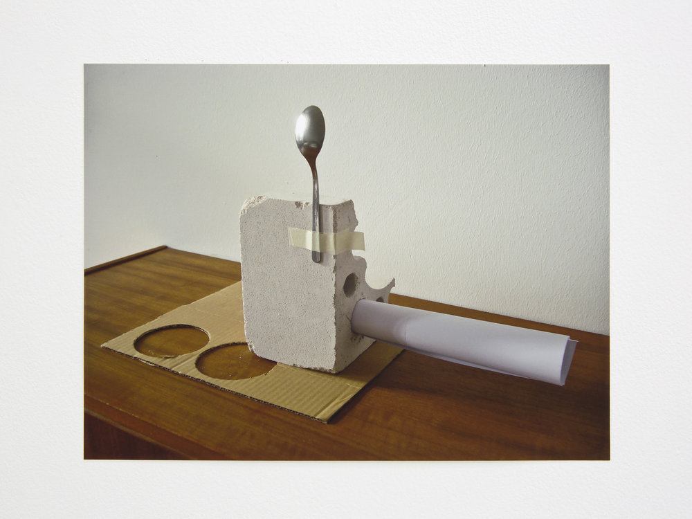 Sculpture, 2016. Color print (Edition of 3), 29,7 x 42 cm. (In Lulu: 30 x 22.5 cm)