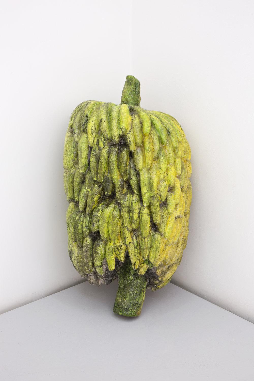 Naufus Ramirez-Figueroa, Penca, 2017. Polystyrene and fiberglass.