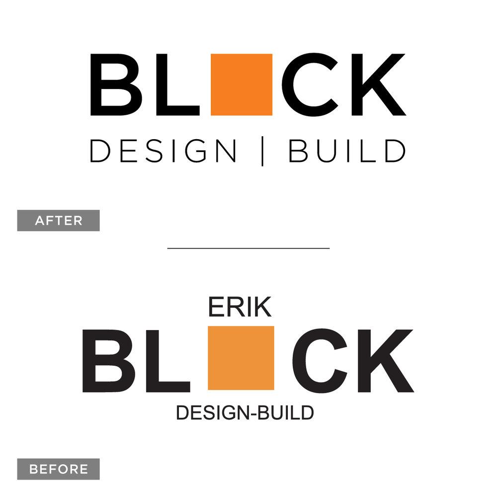 Block Design Build brand refresh