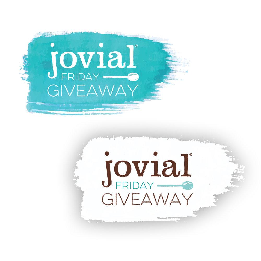 Jovial Friday Giveaway Logos