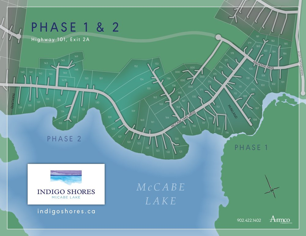 Phase 1 & 2 Site Plan - Click to Enlarge
