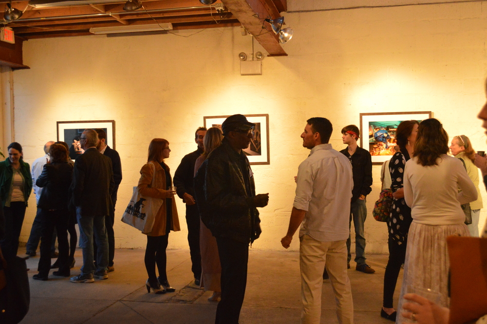Image from Clique Opening Reception in April 2016 at Perkins Center for the Arts, Collingswood, NJ.