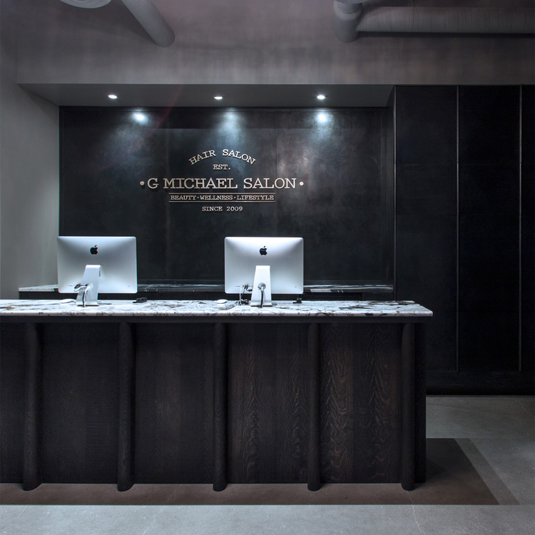 G Michael Salon, Interior Design