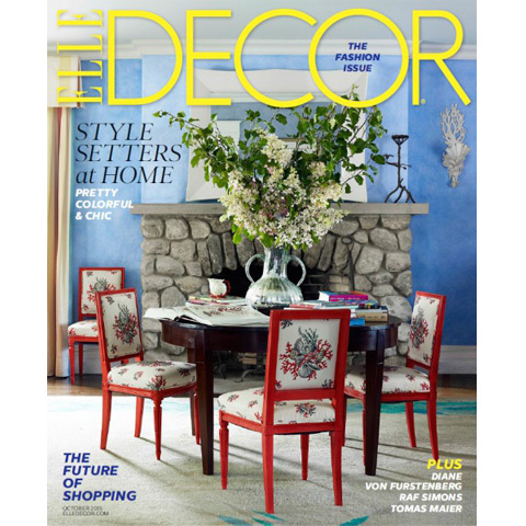 Elle Decor Magazine, Oct 2015