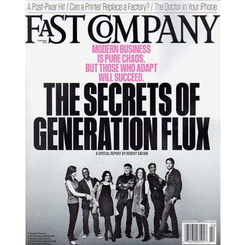 Fast Company Magazine, 2012