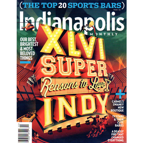 Indianapolis Monthly, Feb 2012