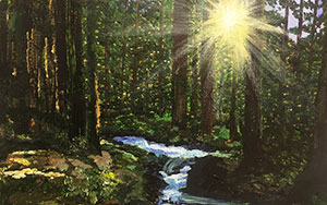 ACRYLIC LANDSCAPES: SPRING IN THE FRONT RANGE   saturday | march 16