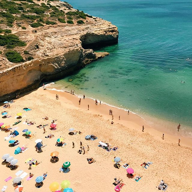 Found my beach. #sevenhangingvalleys #algarve #portugal