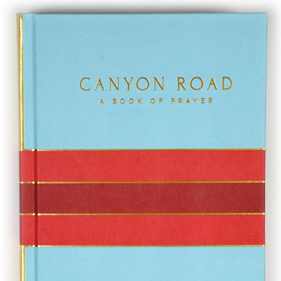 Canyon Road Book Design