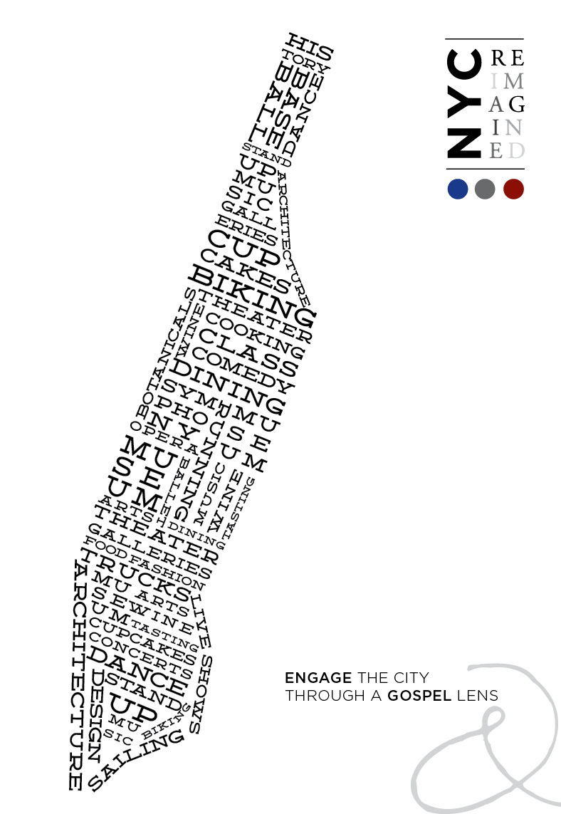 NYC Reimagined Cover Poster