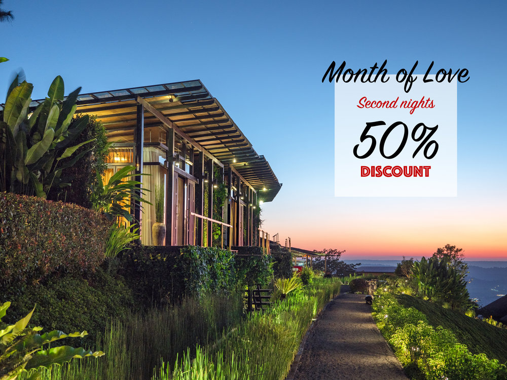FEBRUARY 2019 - Booking more 2 nights second night discount 50%